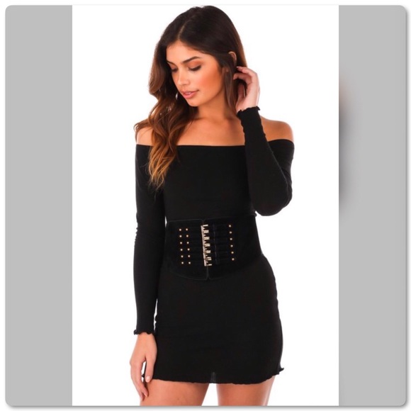 PGSwag Fashion Accessories - Vintage Style Waist Cinch Snap Back Corset Belt